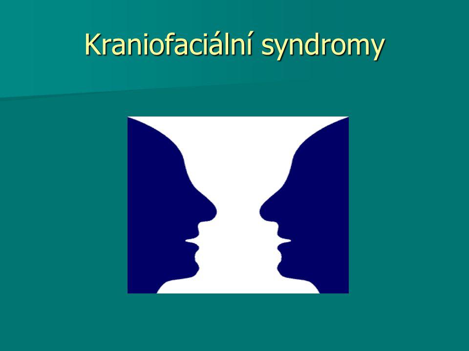 Kraniofaciální syndromy