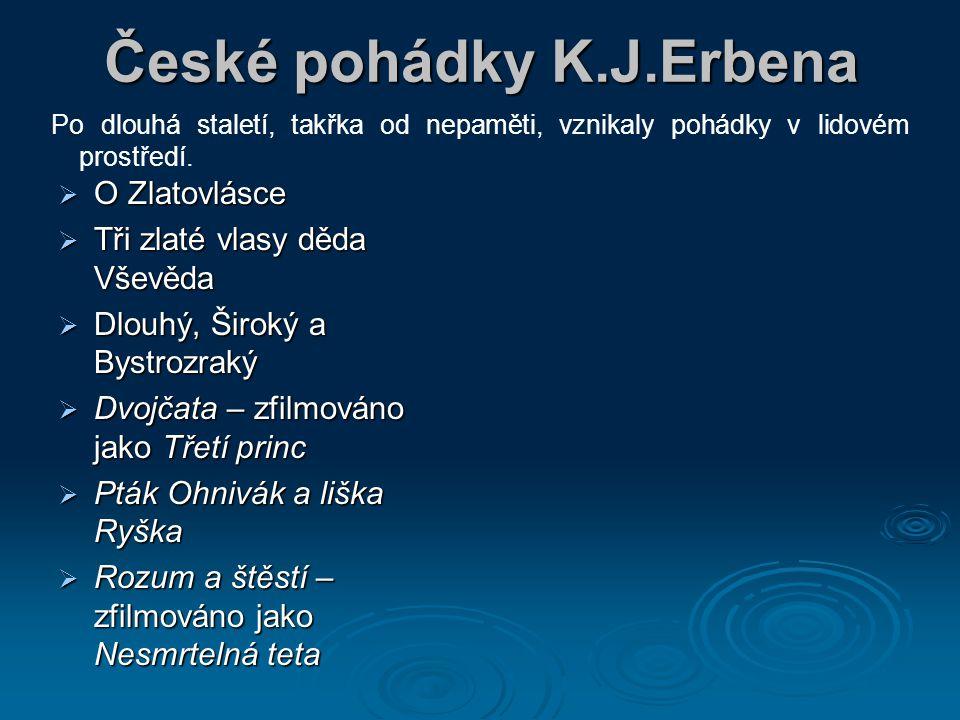 České pohádky K.J.Erbena
