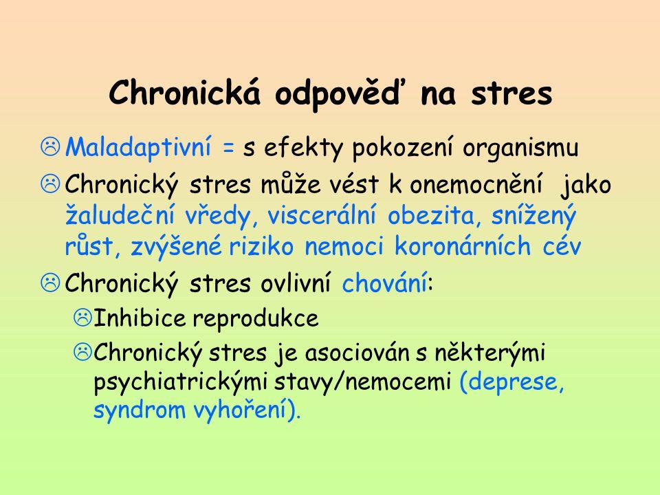 Chronická odpověď na stres
