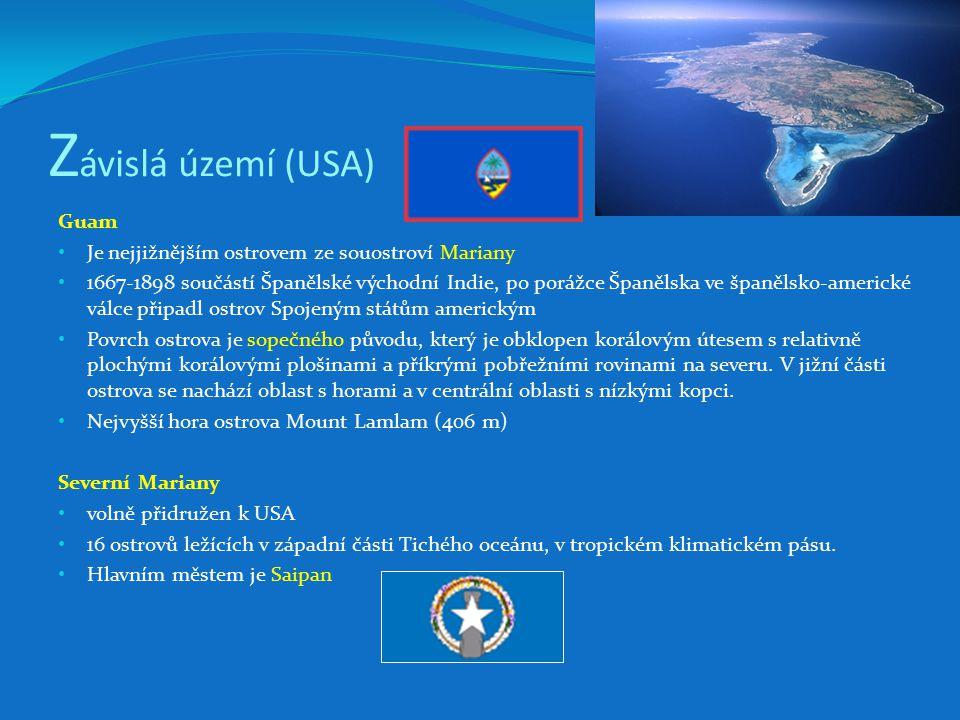 Závislá území (USA) Guam