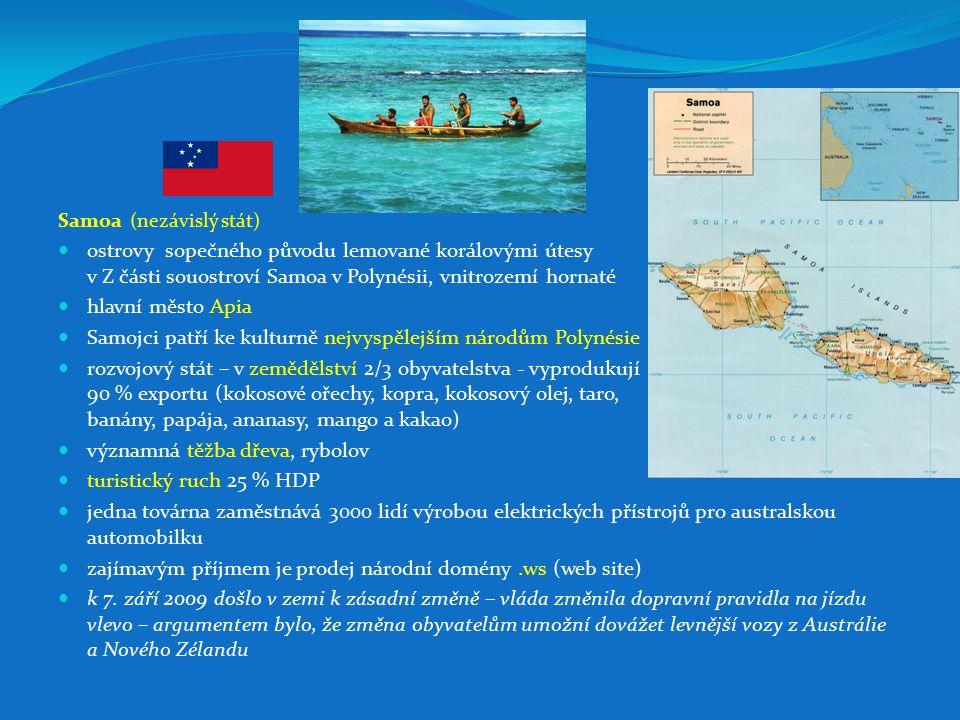 Samojci patří ke kulturně nejvyspělejším národům Polynésie