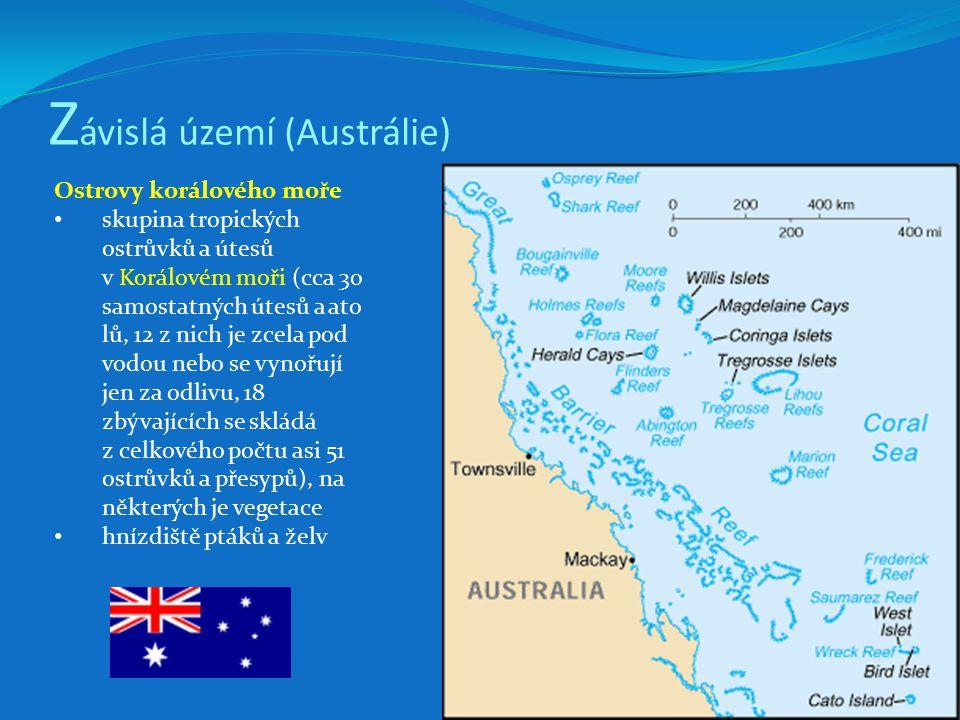 Závislá území (Austrálie)