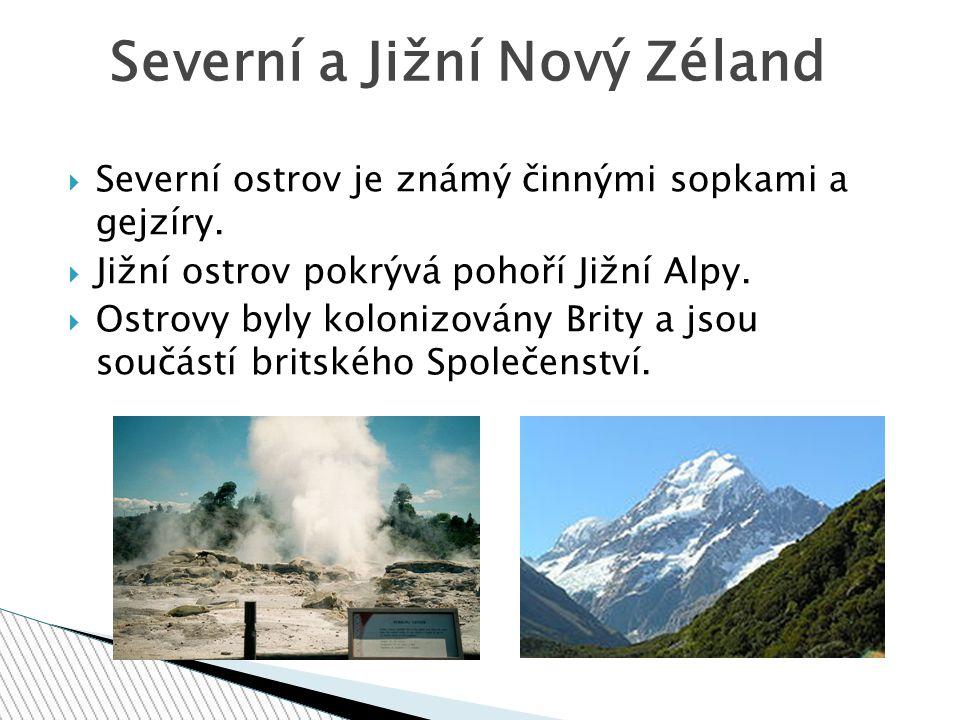 Severní a Jižní Nový Zéland