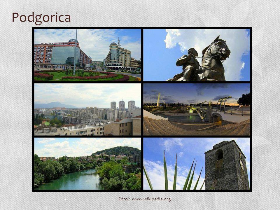 Podgorica Zdroj: www.wikipedia.org