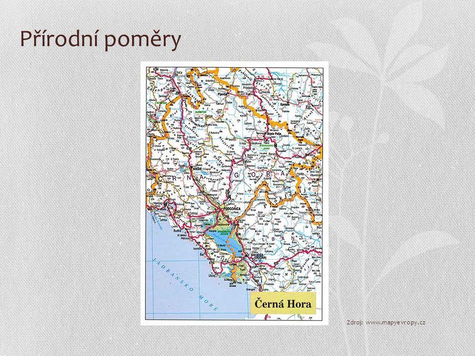 Přírodní poměry Zdroj: www.mapyevropy.cz