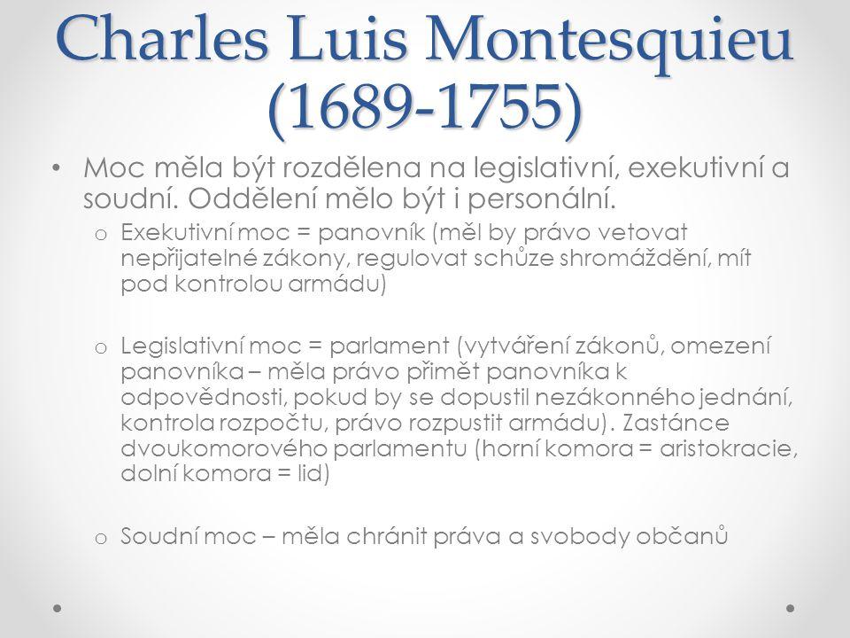 Charles Luis Montesquieu (1689-1755)