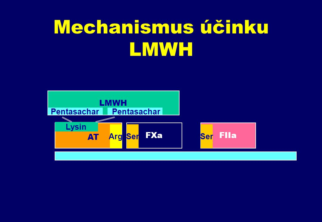 Mechanismus účinku LMWH