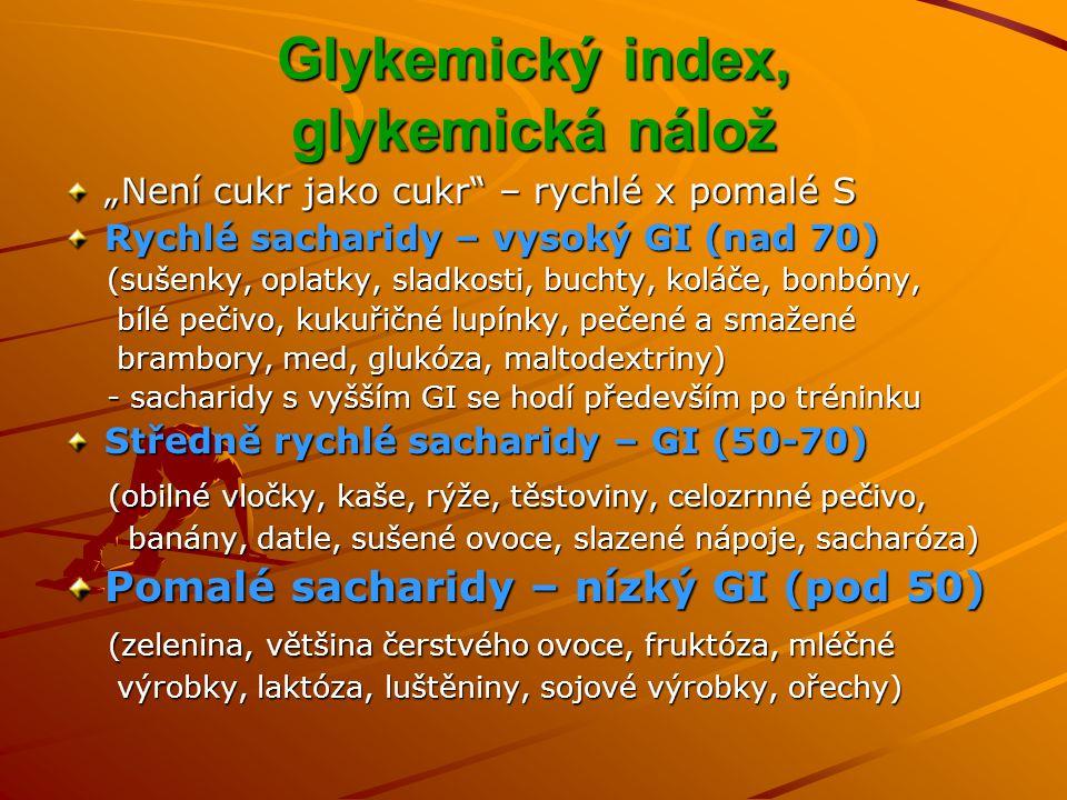 Glykemický index, glykemická nálož