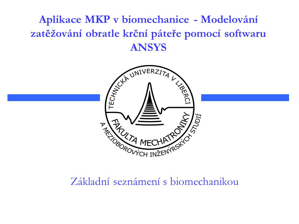 Základní seznámení s biomechanikou