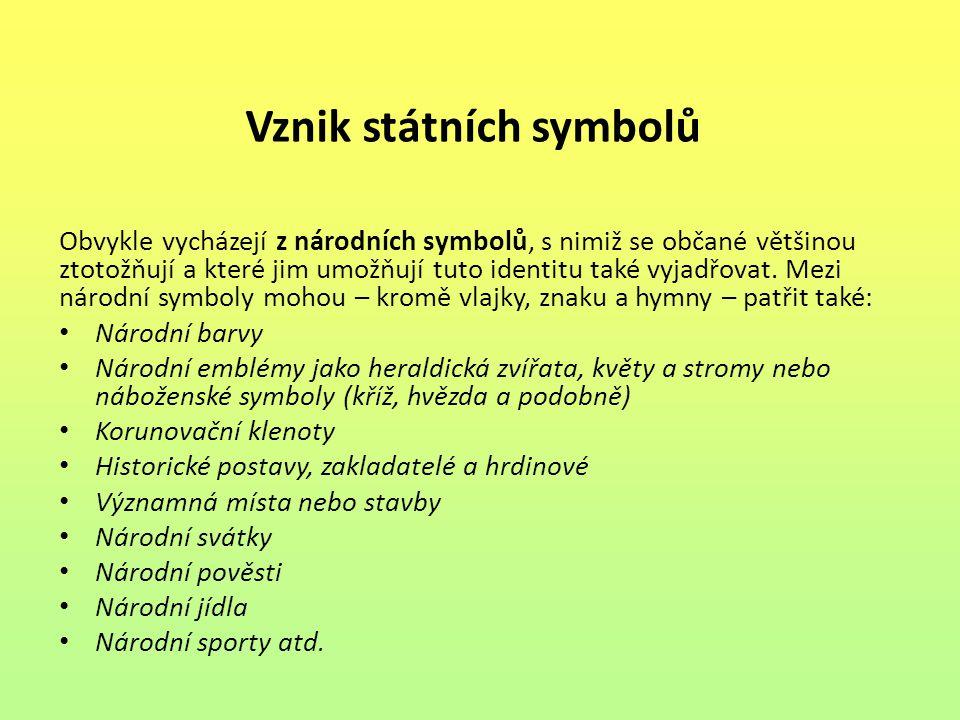 Vznik státních symbolů