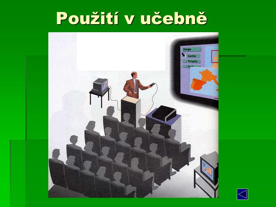 Použití v učebně