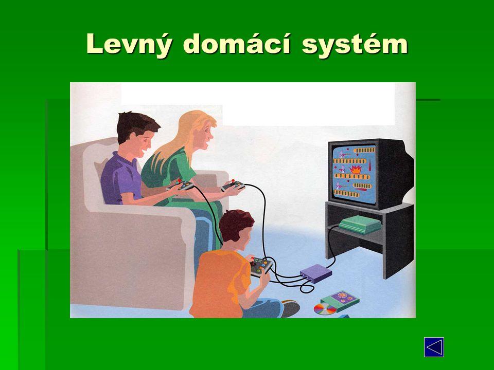 Levný domácí systém