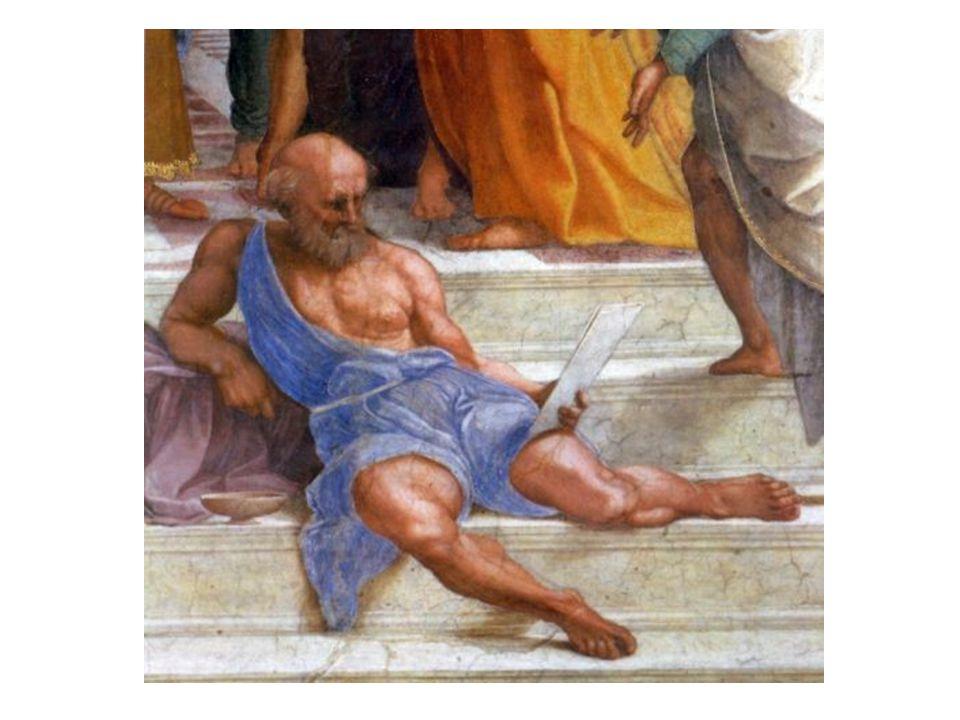 Diogenes ze Sinope (400-323); představitel tzv. kynické školy