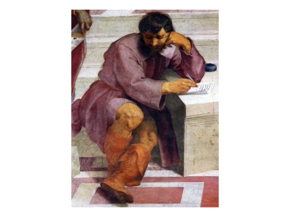 Herakleitos z Efesu: představitel thálétské školy; základem všeho byl pro něj oheň a svět chápal jako neustálý boj protikladů; proslul výrokem:vše plyne.