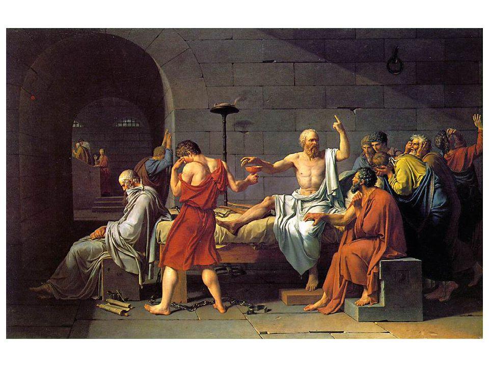 Jean Louis Davis Smrt Sokratova: Sokrates byl odsouzen v době, kdy byla v Athénách svržena demokratická vláda a nastolena vláda 30 tyranů.