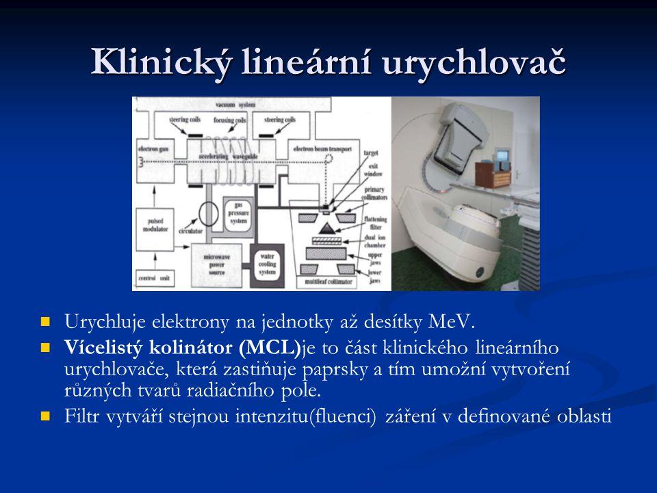 Klinický lineární urychlovač