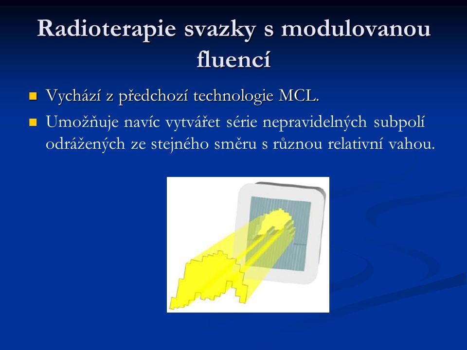 Radioterapie svazky s modulovanou fluencí