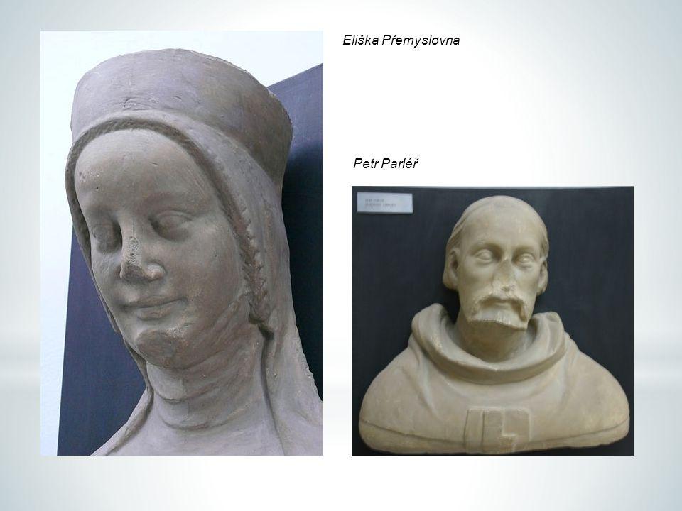 Eliška Přemyslovna Petr Parléř