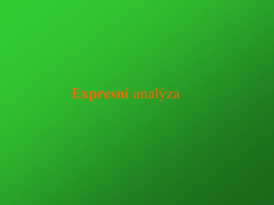 Expresní analýza