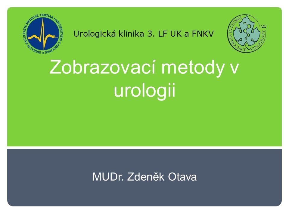 Zobrazovací metody v urologii