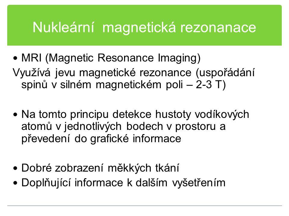 Nukleární magnetická rezonanace