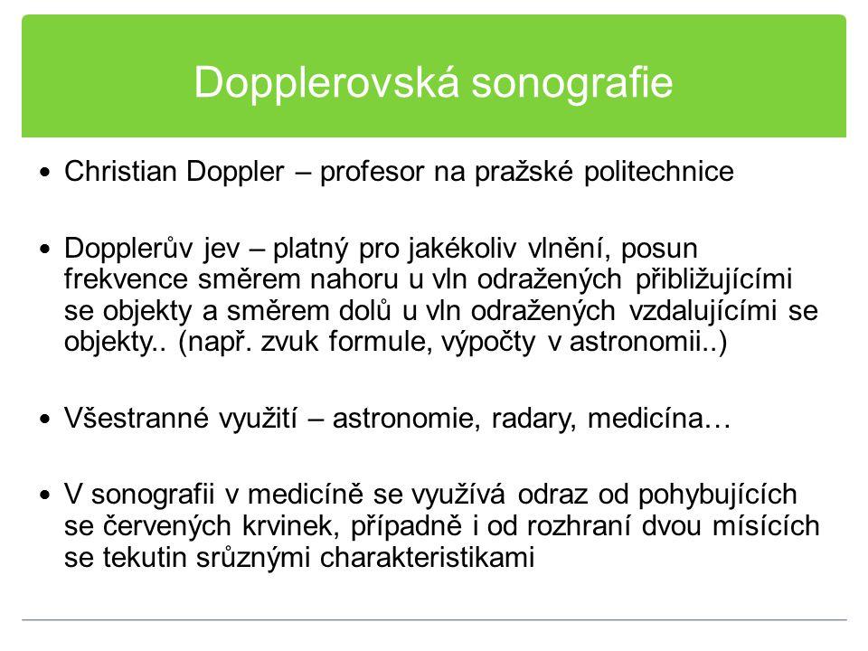 Dopplerovská sonografie