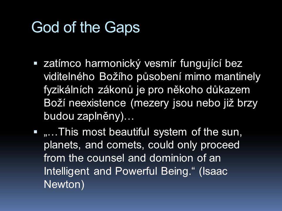 God of the Gaps