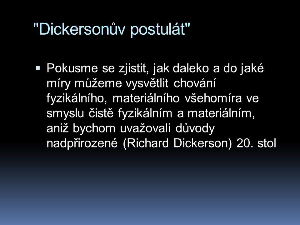 Dickersonův postulát