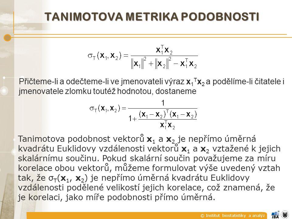 tanimotova metrika podobnosti