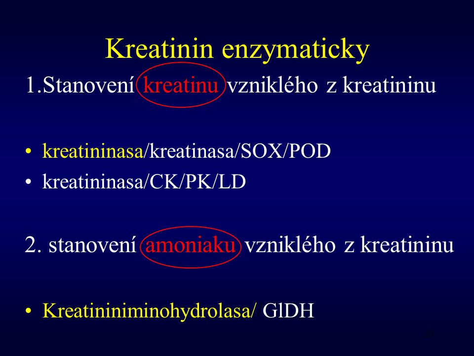 Kreatinin enzymaticky