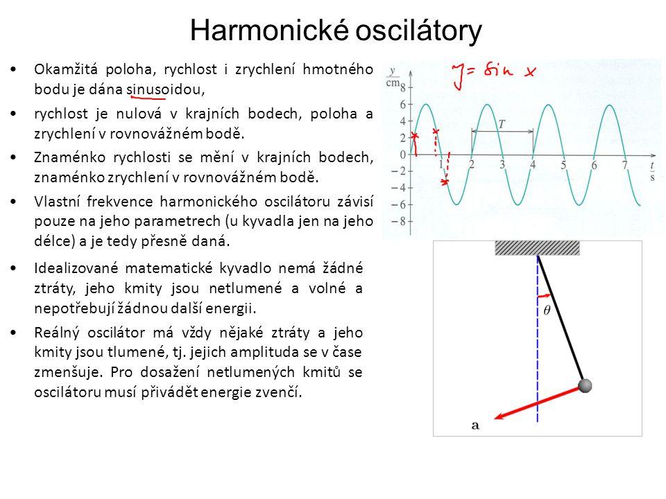 Harmonické oscilátory
