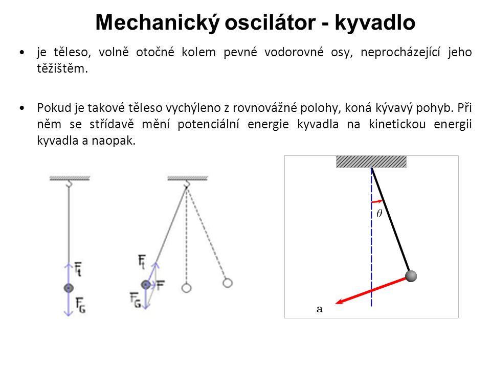 Mechanický oscilátor - kyvadlo