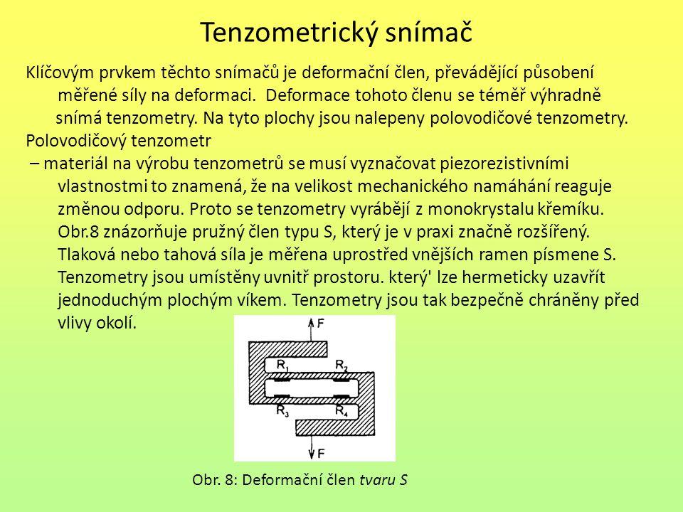 Tenzometrický snímač