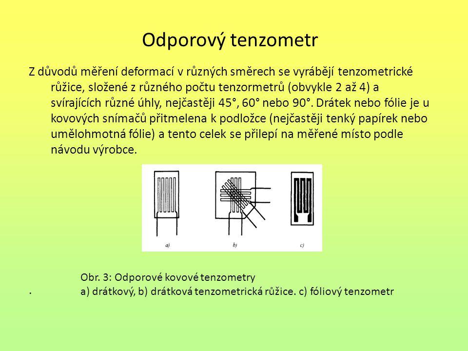Odporový tenzometr