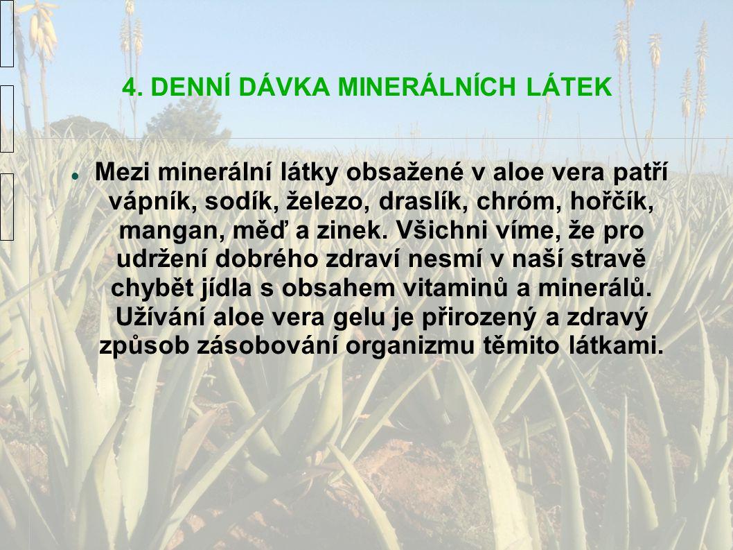 4. DENNÍ DÁVKA MINERÁLNÍCH LÁTEK