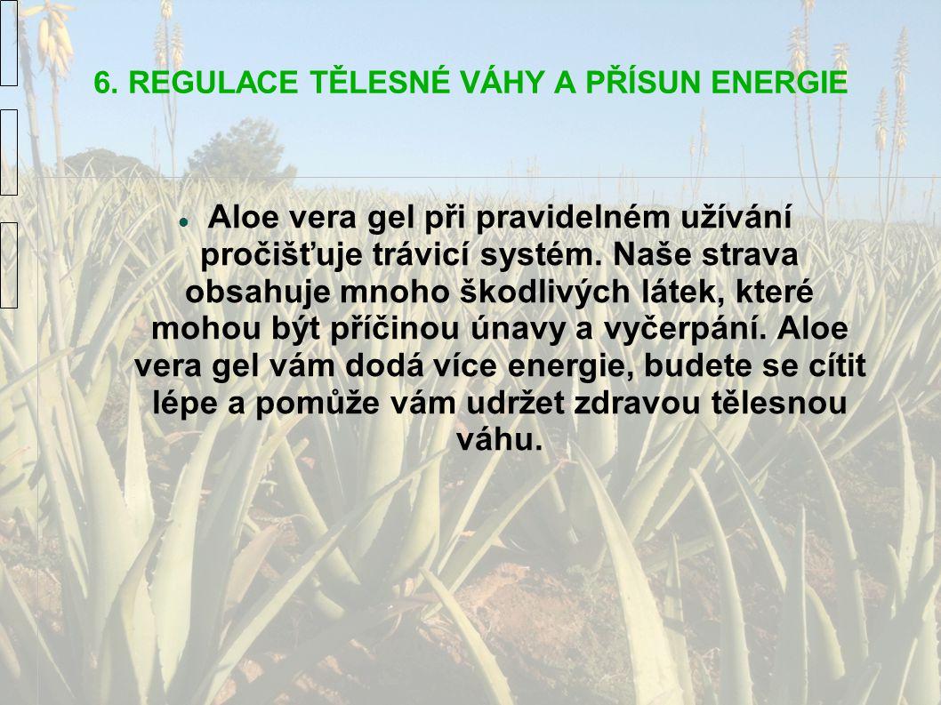 6. REGULACE TĚLESNÉ VÁHY A PŘÍSUN ENERGIE