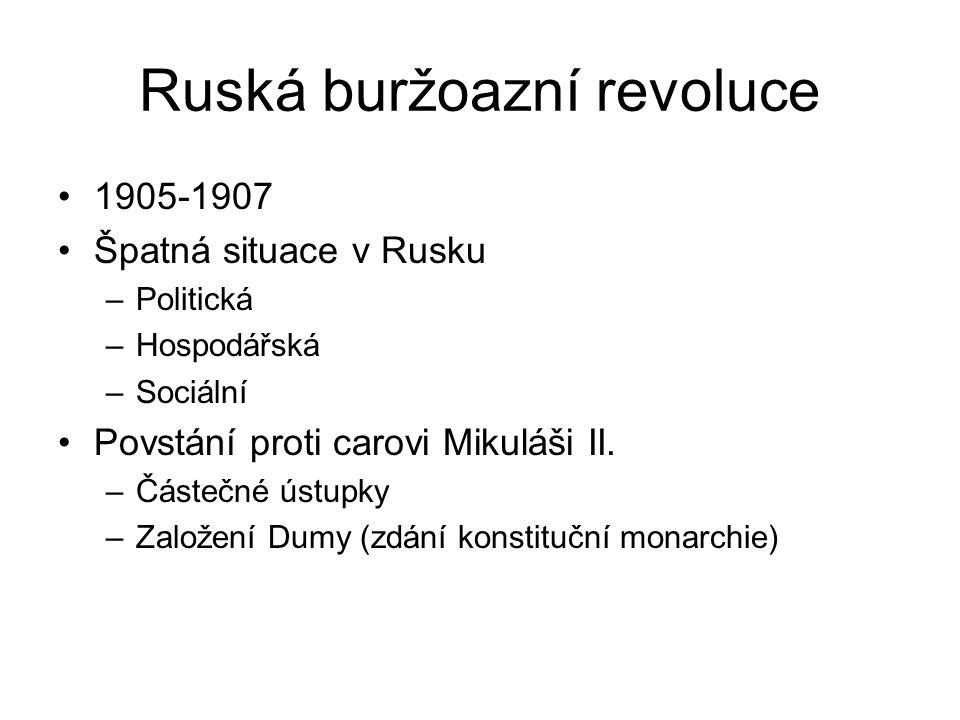 Ruská buržoazní revoluce