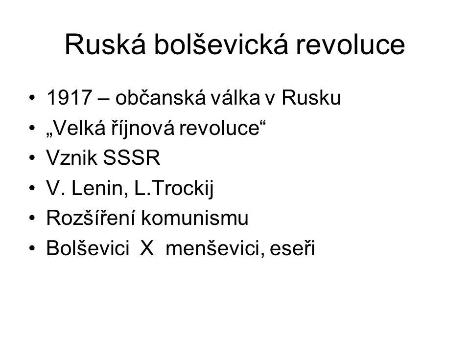 Ruská bolševická revoluce