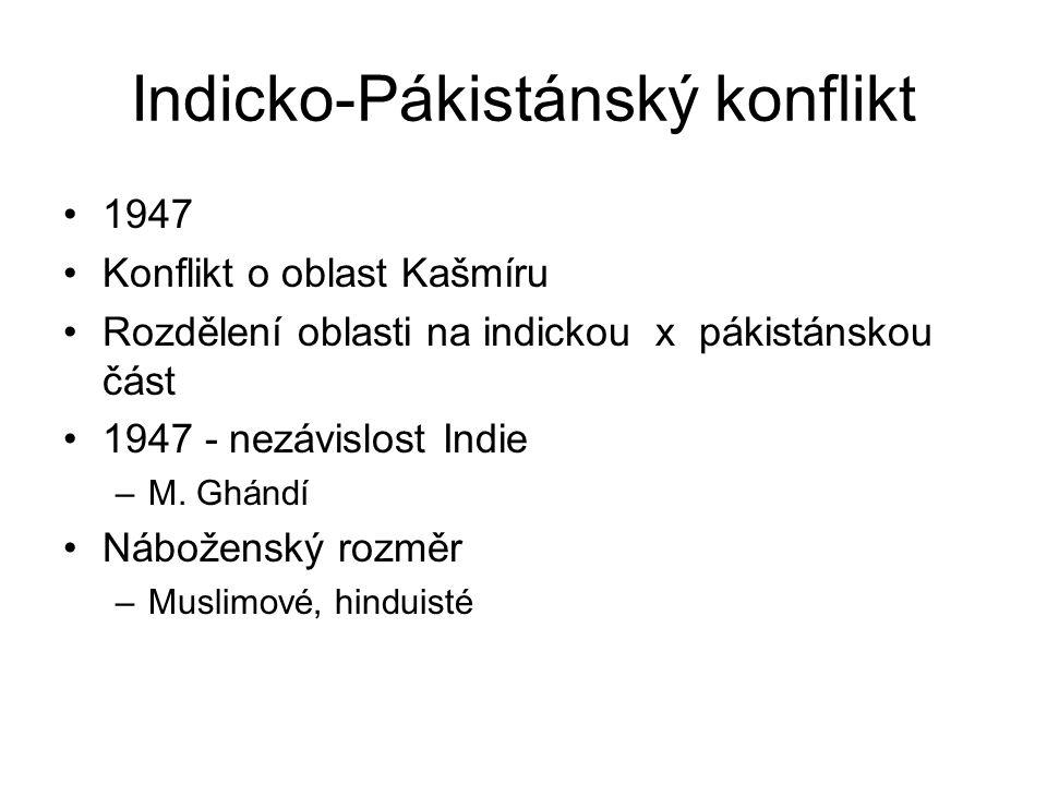 Indicko-Pákistánský konflikt
