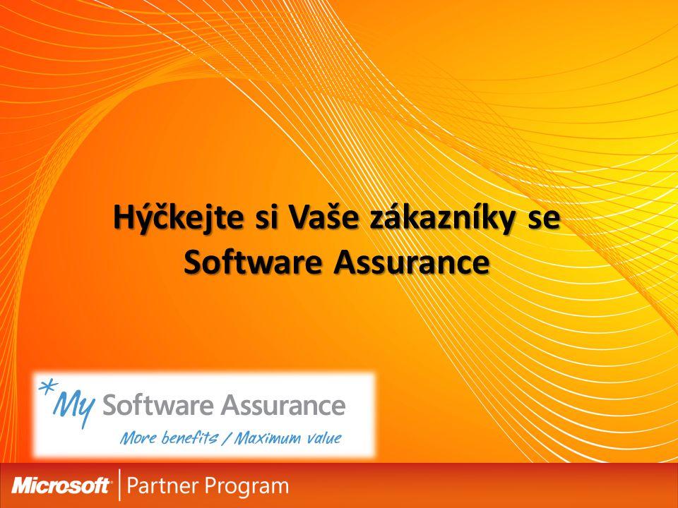 Hýčkejte si Vaše zákazníky se Software Assurance