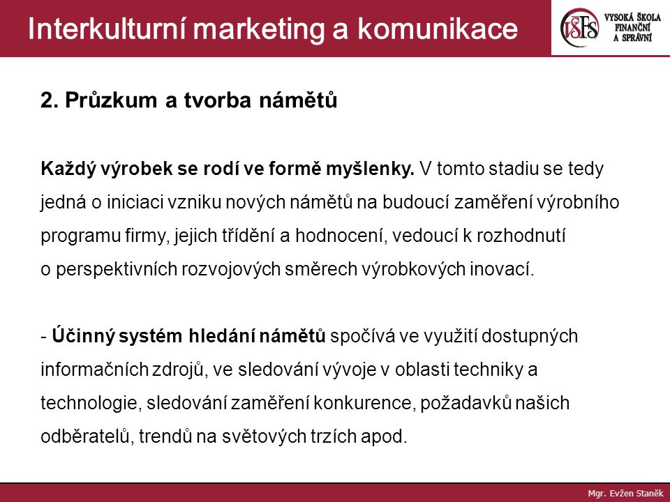 Interkulturní marketing a komunikace