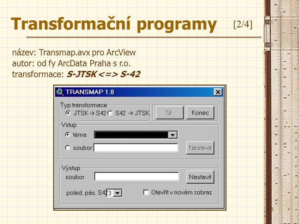 Transformační programy