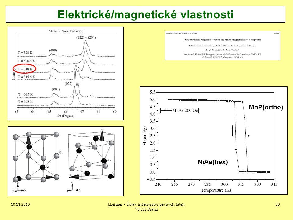 Elektrické/magnetické vlastnosti