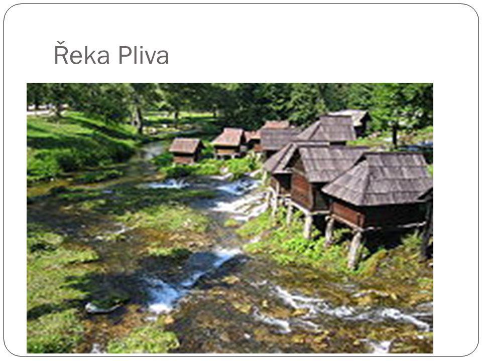 Řeka Pliva