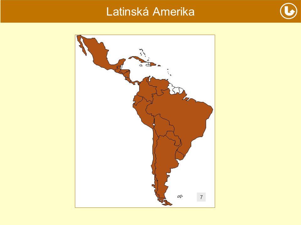 Latinská Amerika 7