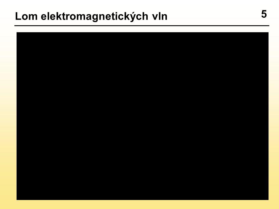 5 Lom elektromagnetických vln