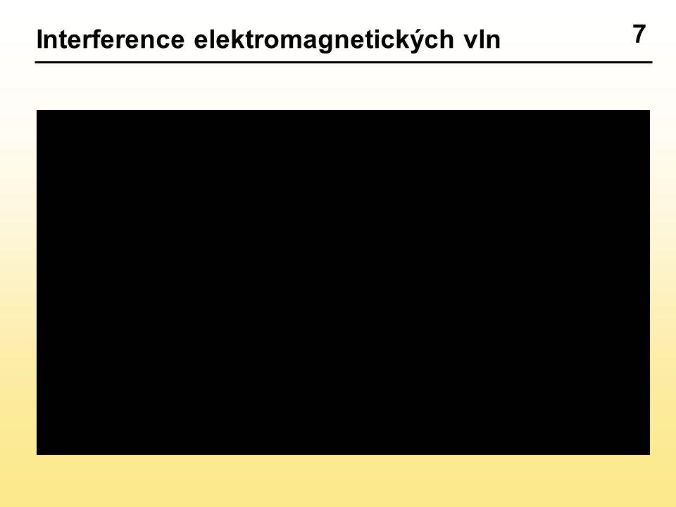 7 Interference elektromagnetických vln