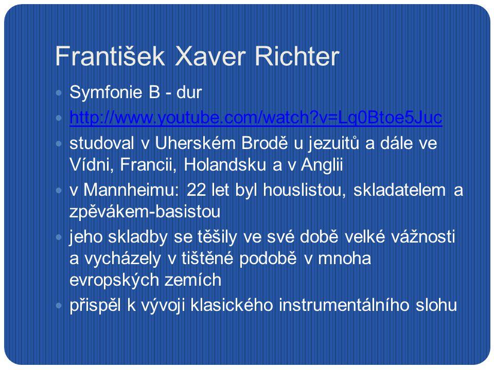 František Xaver Richter