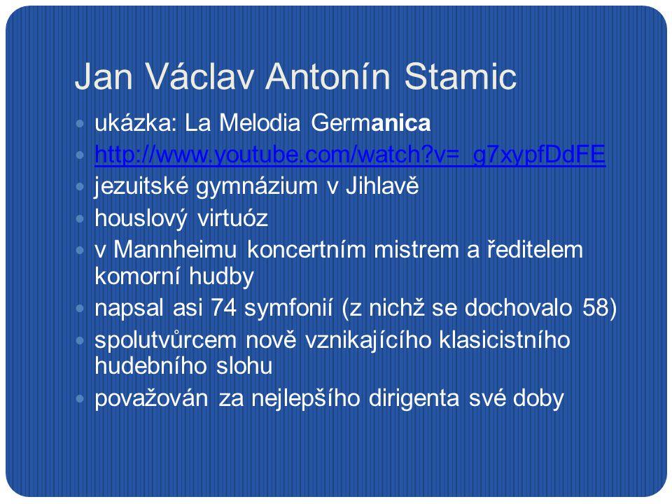 Jan Václav Antonín Stamic