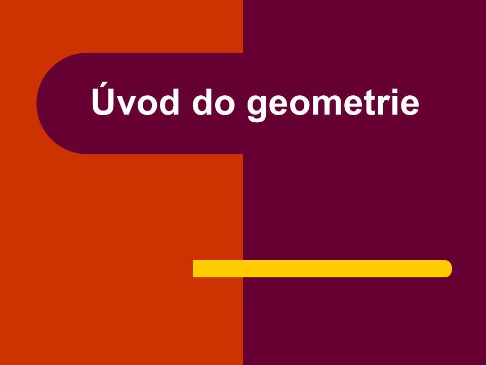 Úvod do geometrie